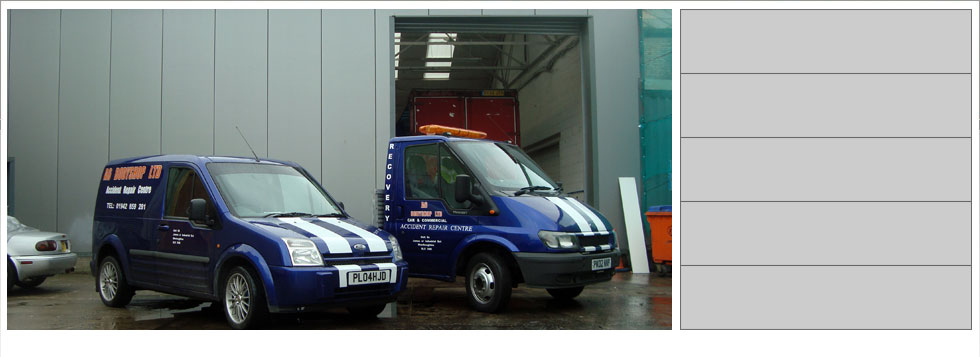 A6 Bodyshop Car Van HGV Commercial Body Shop Leigh Manchester